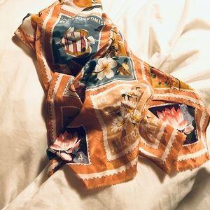 Adrienne Vittadini 100% silk scarf